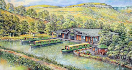 Llangattock Boathouse and Marina